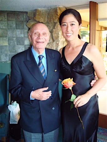 Rebecca Jackson with her mentor, David Arben (click on the image for full story.)