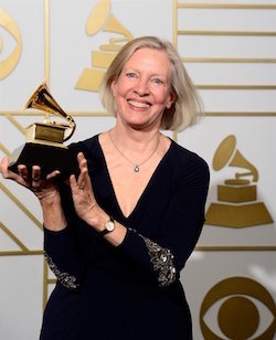Producer Judith Sherman, 2016 Grammy winner
