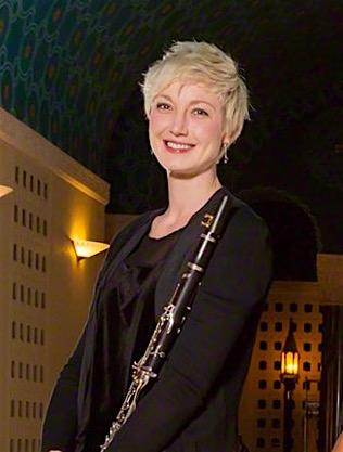 """Natalie Parker, Principal Clarinet, performs clarinet cadenza in """"Conversations With Nijinsky."""""""