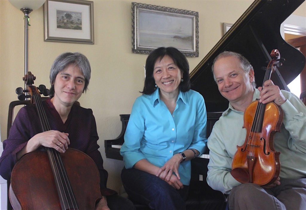 Eos Ensemble featuring Thalia Moore (cello), Gwendolyn Mok (piano), Craig Reiss (violin)